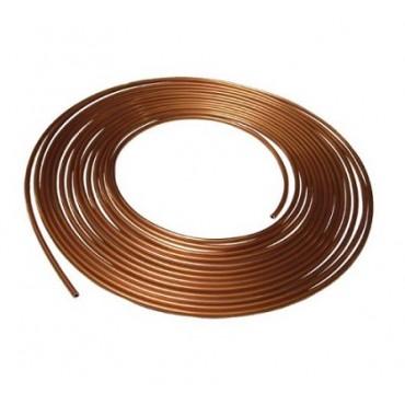 Rouleau tube rigide de frein cuivre