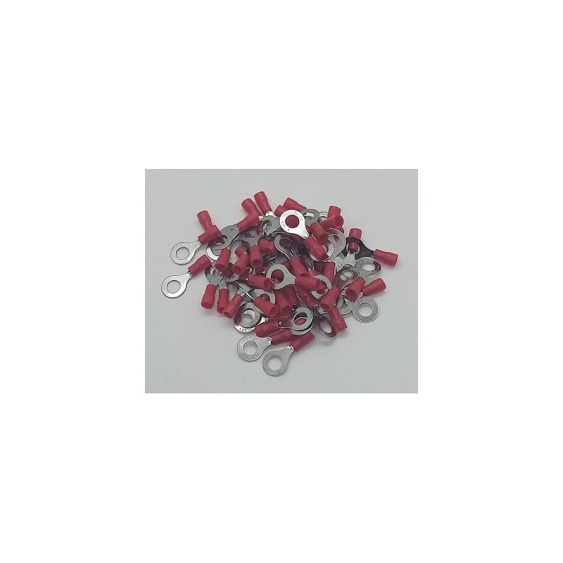 Cosses électriques oeillet M6 fil de 0.5 à 1.5mm