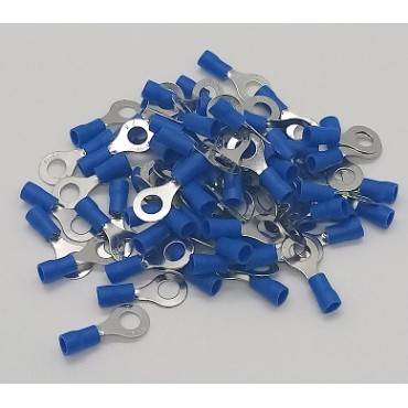 Cosses électriques oeillet M6 fil de 1.5 à 2.5mm