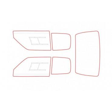 Kit vitres polycarbonate makrolon Peugeot 205