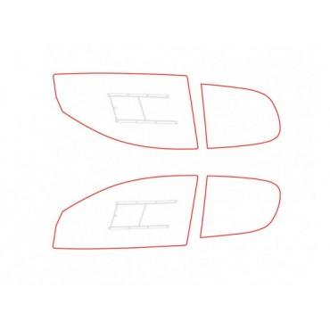 Kit vitres polycarbonate makrolon Peugeot 206