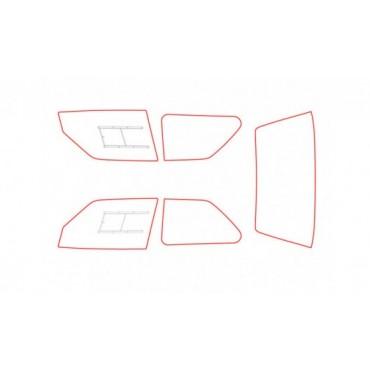 Kit vitres polycarbonate makrolon Peugeot 106 Phase 1