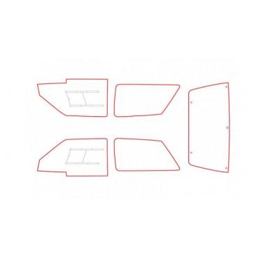 Kit vitres polycarbonate makrolon Citroën AX