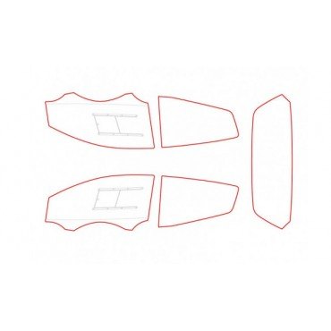 Kit vitres polycarbonate makrolon Citroën C2