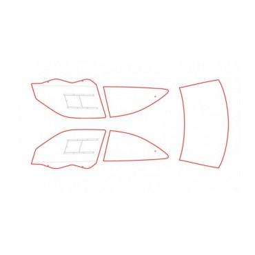 Kit vitres polycarbonate makrolon Citroën Xsara