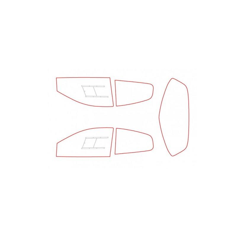 Kit vitres polycarbonate makrolon Renault Clio 3