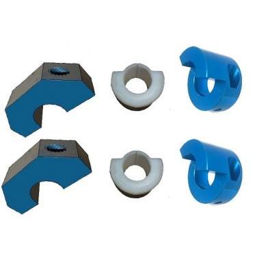 Kit fixations barre stabilisatrice 25mm 205 Groupe A