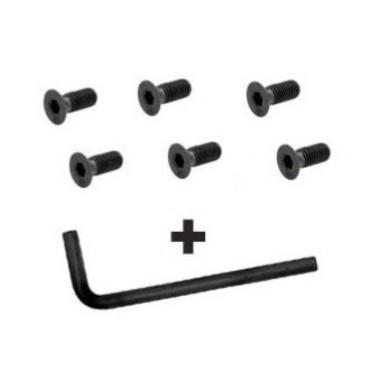 Kit vis volant + clef - Longueur 12mm