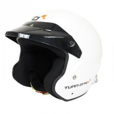 Casque TURN ONE Jet-RS Blanc