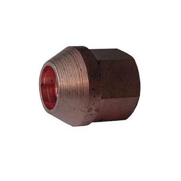 Ecrou de roue conique cuivre 12x150