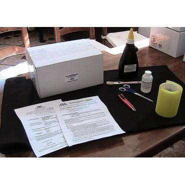 kit pose feutrine M1 tableau de bord - dom tom (transport par avion)