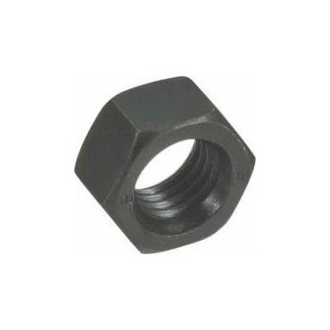 Ecrou H classe 8 - 12mm - noir