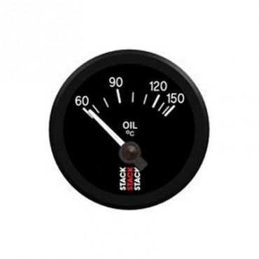 Manomètre température d'huile STACK électrique