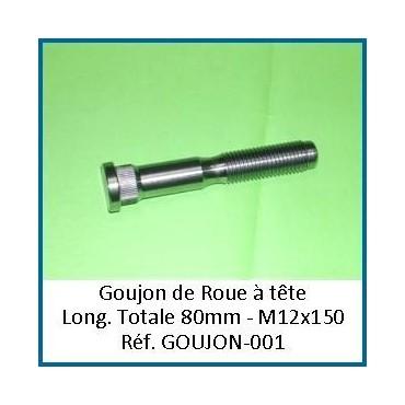 Goujons à tête universel 12/150 lg 80mm