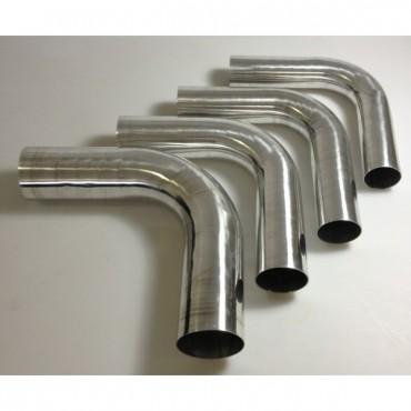 Coudes 90° aluminium redox silicone