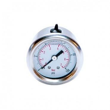Manomètre de pression d'essence 1 à 7 bars 1/8x27 NPT mâle