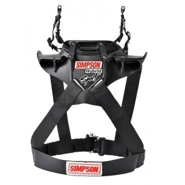 SIMPSON Hybrid Sport avec attaches type clip HANS®