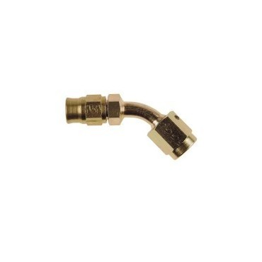 Raccord femelle tube 45° concave dash3