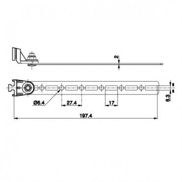 Fixation Ventilateur SPAL +...