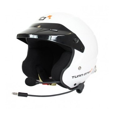 Casque FIA Jet TURN ONE Jet-RS