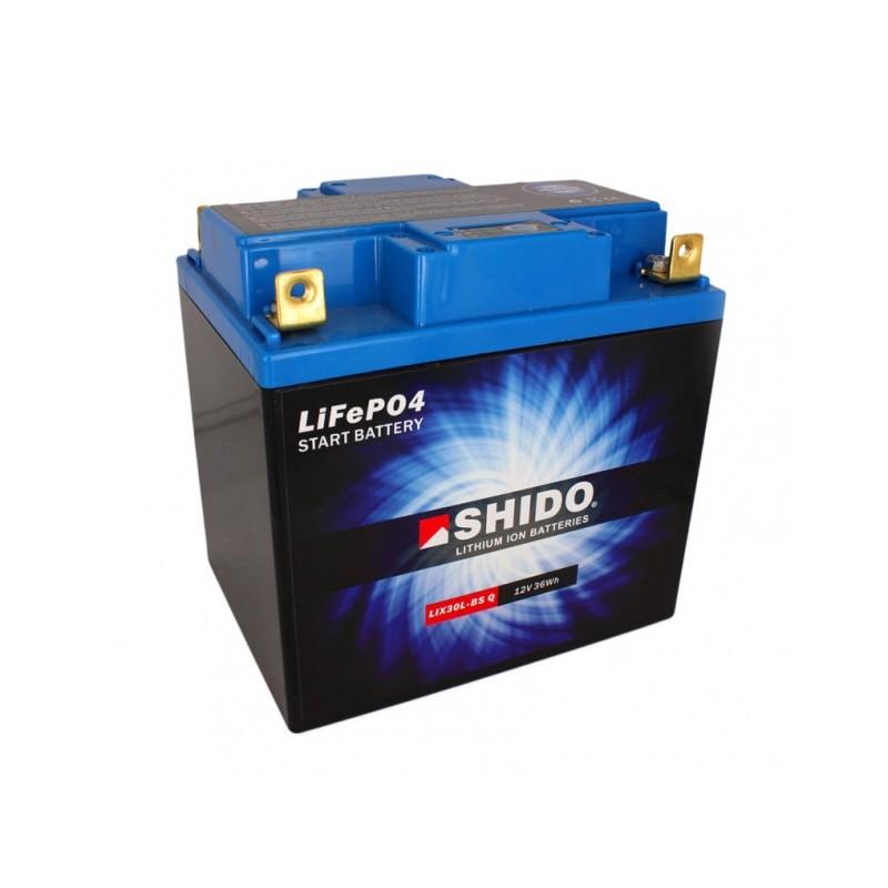 batterie lithium shido 30A compétition