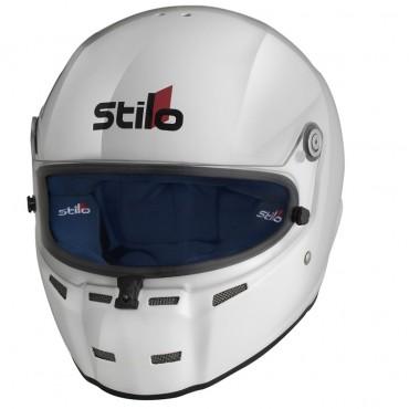 Casque FIA Intégral STILO ST5F Composite blanc, SNELL SA2015