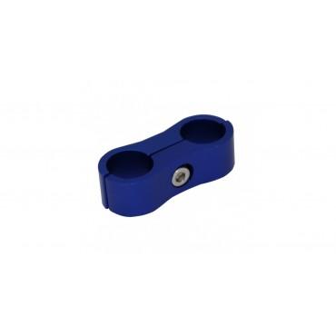 Collier Alu Anodisé Bleu 2 voies Dash 6