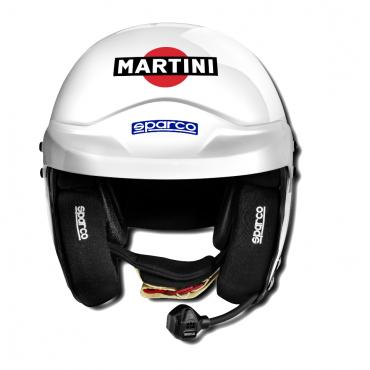 Casque MARTINI RACING AIR RJ-5I FIA blanc