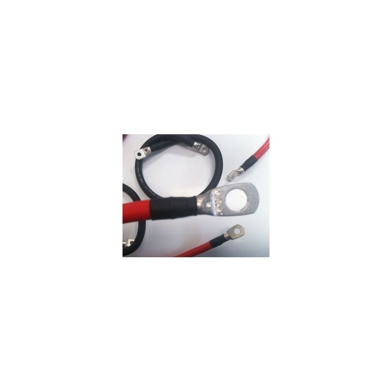 Câble Batterie Pro 25mm - Longueur 100 cm