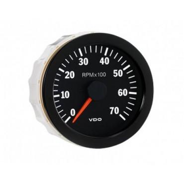 Compte-tours VDO 7000 Trs - Diamètre 80mm