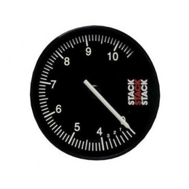 Compte-tours STACK CLUBMAN 10500 Trs - Diamètre 80mm
