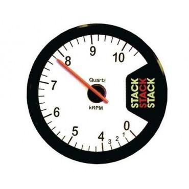 Compte-tours STACK CLUBMAN 10500 Trs - Diamètre 80mm - Blanc