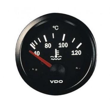 Manomètre température d'eau VDO - Diamètre 52mm - PAC RACING
