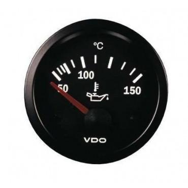 Manomètre température d'huile VDO - Diamètre 52mm
