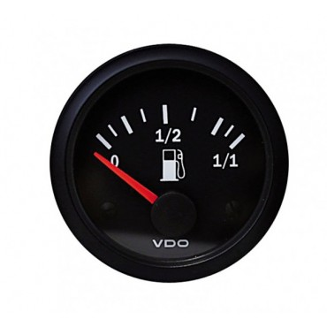 Manomètre VDO jauge essence tubulaire