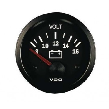 Manomètre VDO Voltmètre 12V