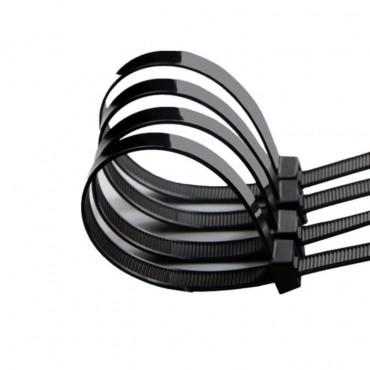Serre-Câble Rilsan 4.6mm x 200mm - 100 Pièces - Pac Racing