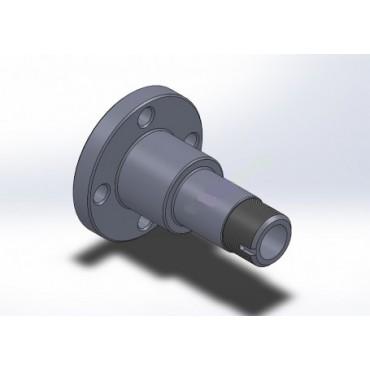 Fusée Réglable Ronde 106 / Saxo / Ax - Axe 32mm - PAC RACING