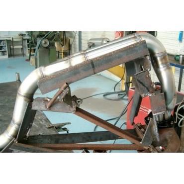 Bi tube inox 205 Rallye GR.A