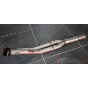 Bi tube inox Peugeot 206 RC