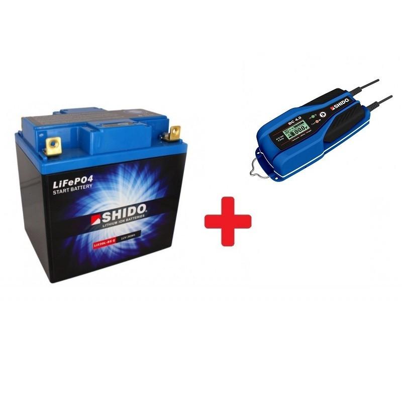 Pack Batterie Lithium Compétition SHIDO + CHARGEUR