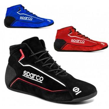 Bottines SPARCO Slalom Plus version peau retournée
