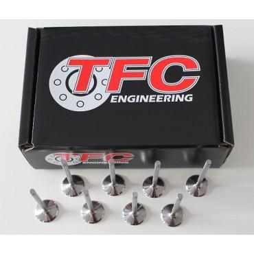 Soupapes forgées TFC - 206 1.6L 16s TU5JP4 - Echappement + 1.00mm